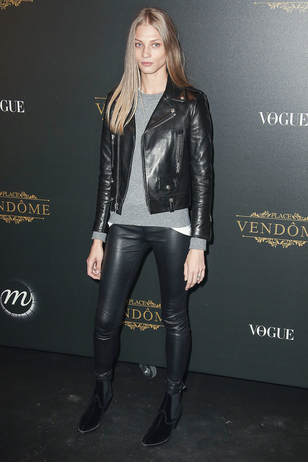 Anna Selezneva attends Vogue x Irving Penn party