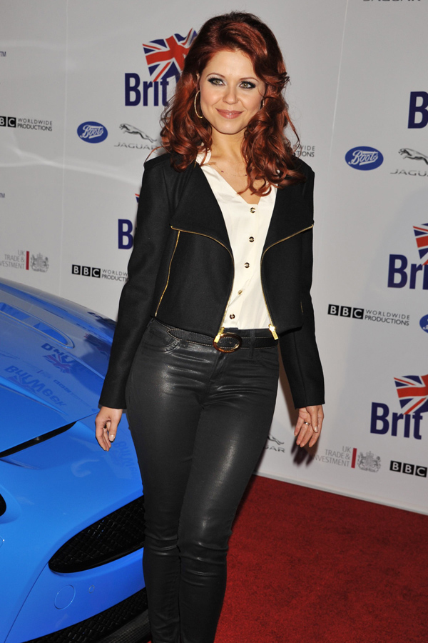 Anna Trebunskaya at BritWeek 2012