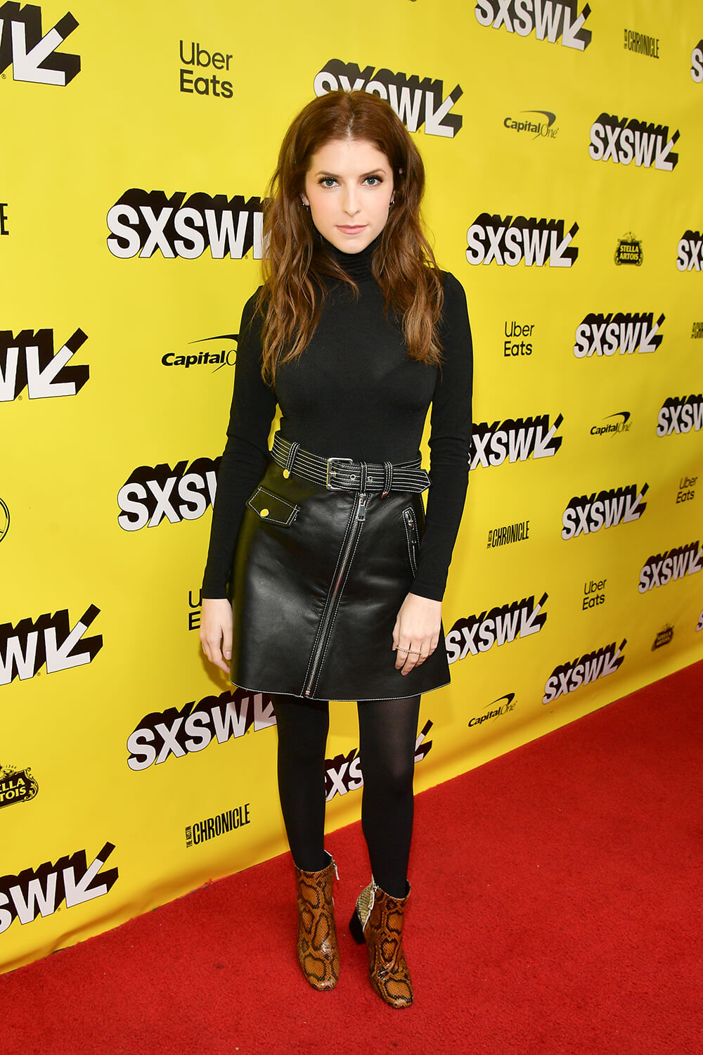 Anna Kendrick attends The Day Shall Come Premiere