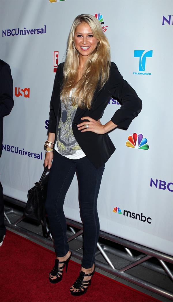 Anna Kournikova at NBC Universal TCA 2011 Press Tour All-Star Party