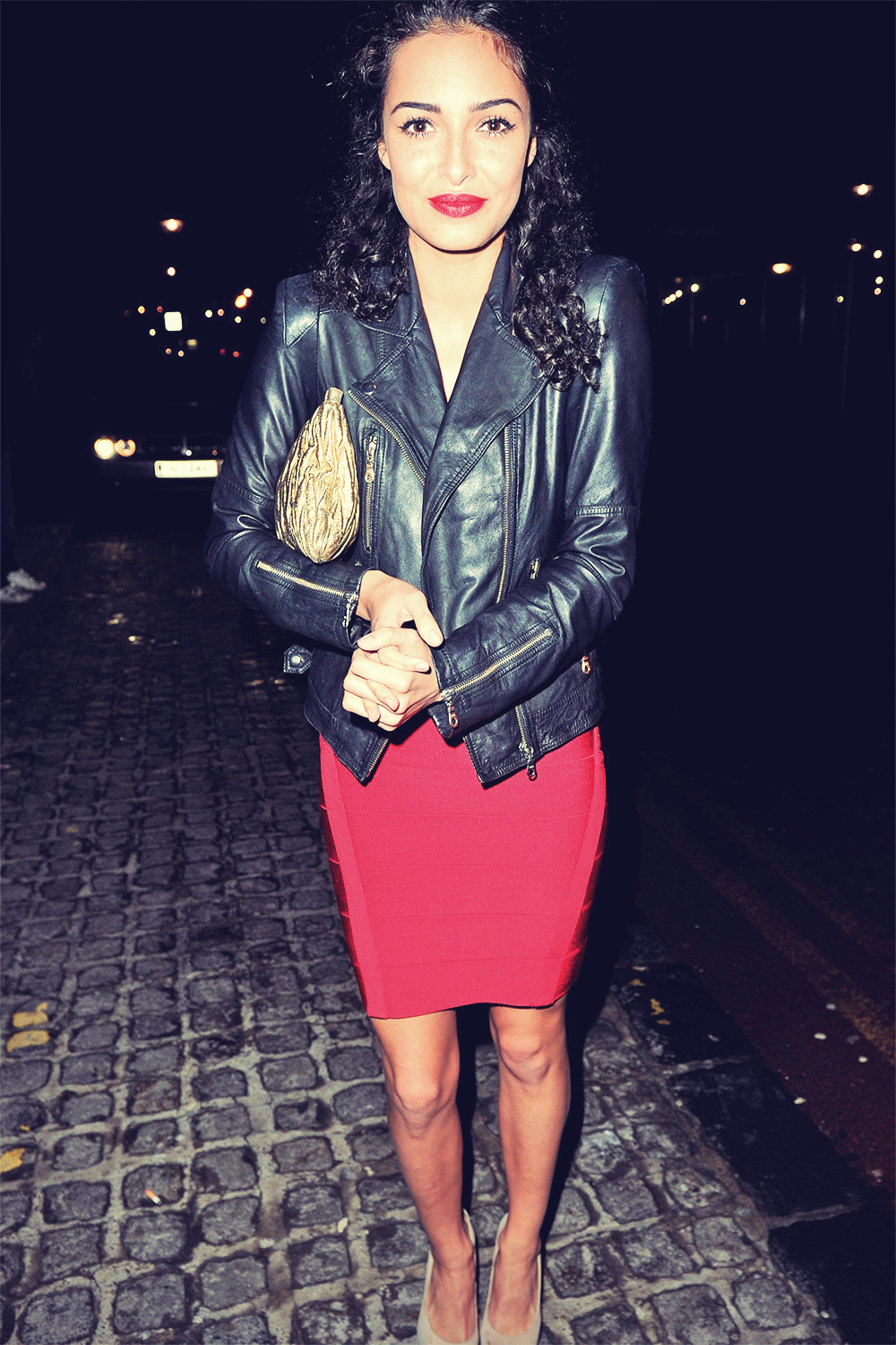 Anna Shaffer leaving Bronagh Waugh Party