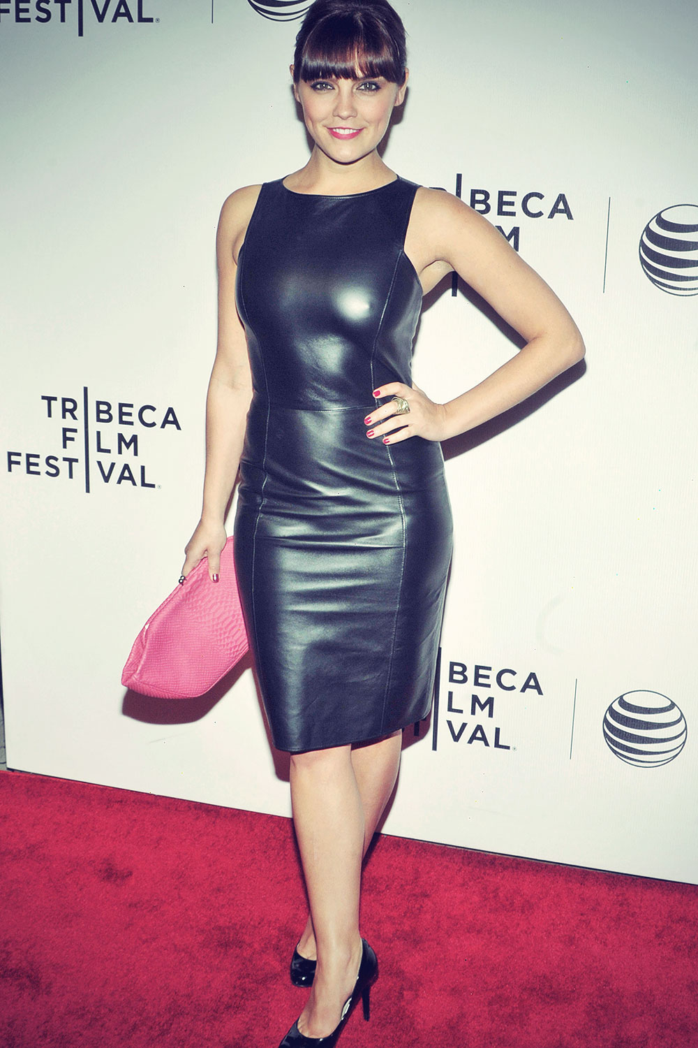 Annabel Scholey attends 2014 Tribeca Film Festival