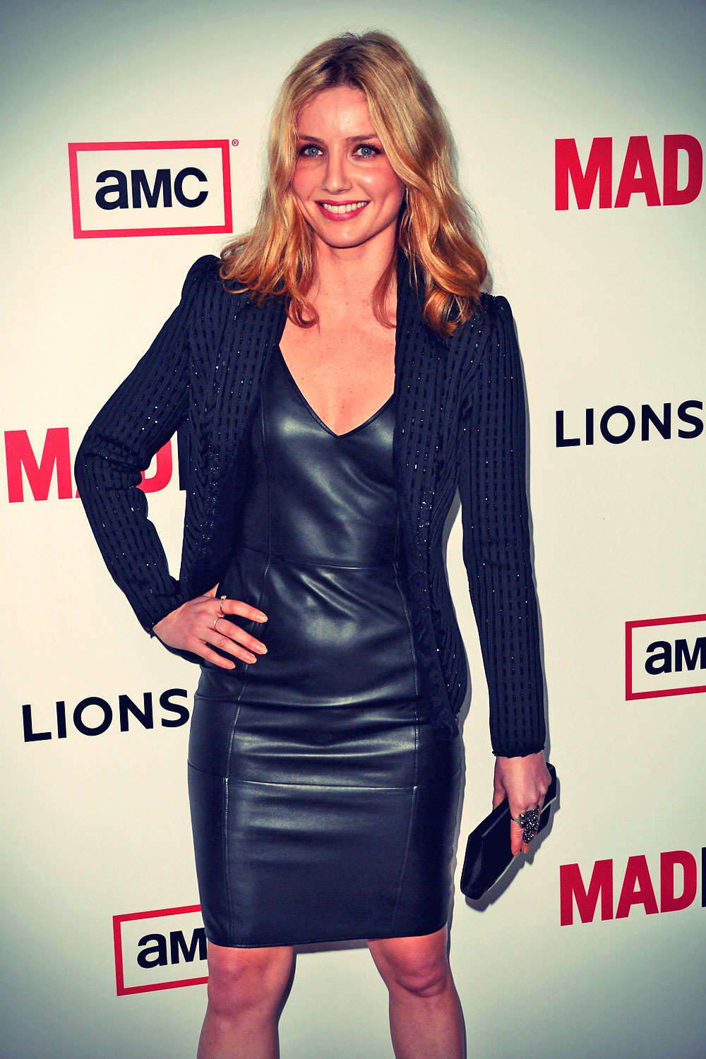 Annabelle Wallis attends Mad Men Season 6 premiere
