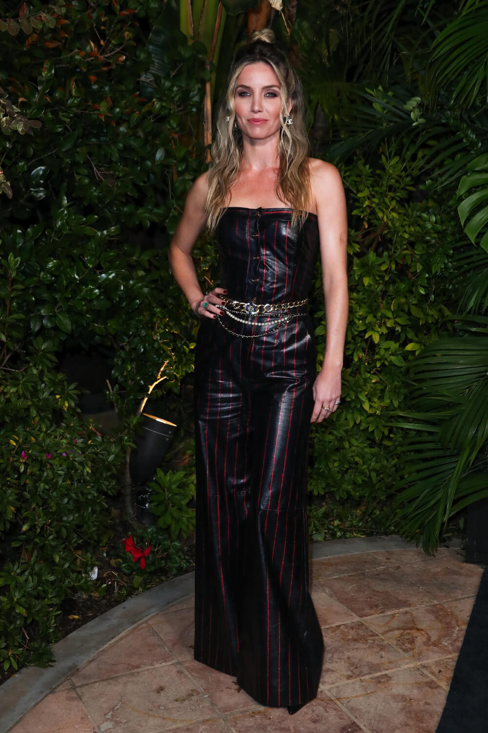 Annabelle Wallis attends Charles Finch and Chanel Pre-Oscars Dinner