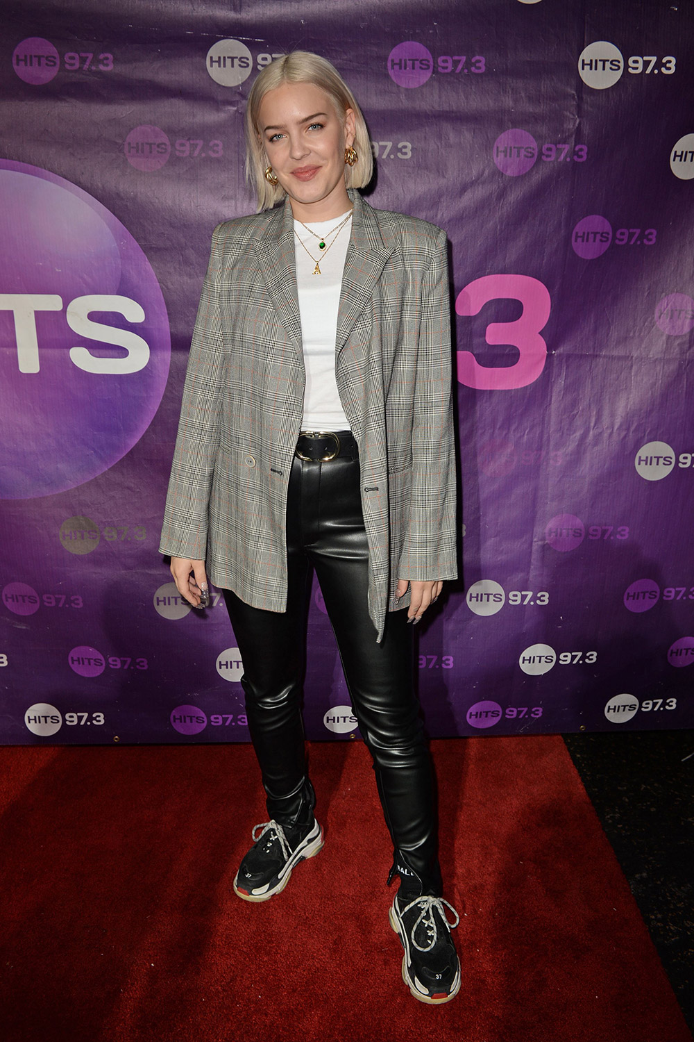 Anne Marie Rose Nicholson At Hits 97 3 Sessions Leather