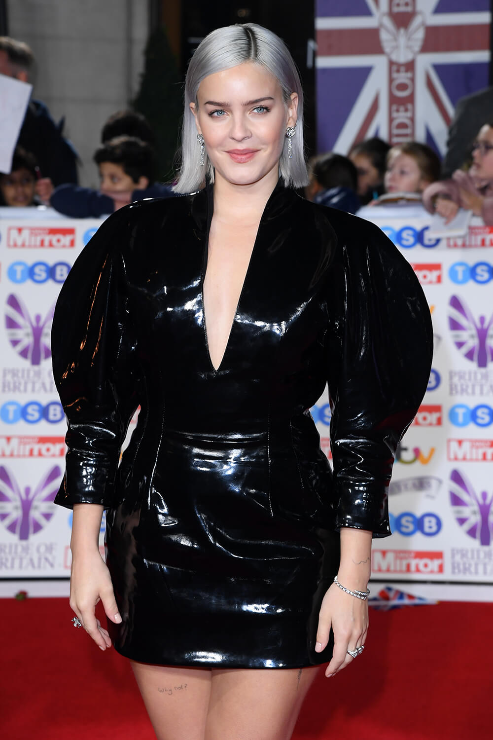 Anne-Marie attends Pride of Britain Awards
