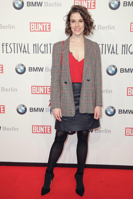 Anne Schäfer attends Bunte & BMW Festival Night