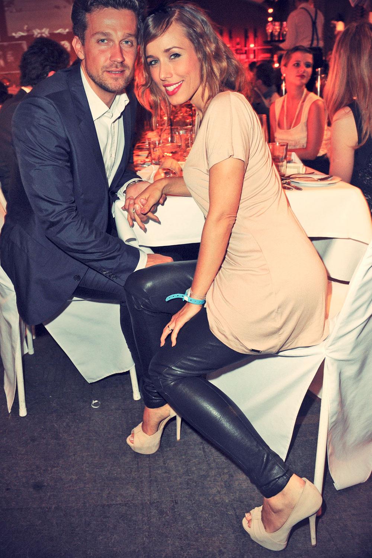 Annemarie Warnkross attends BMW Open Players Night