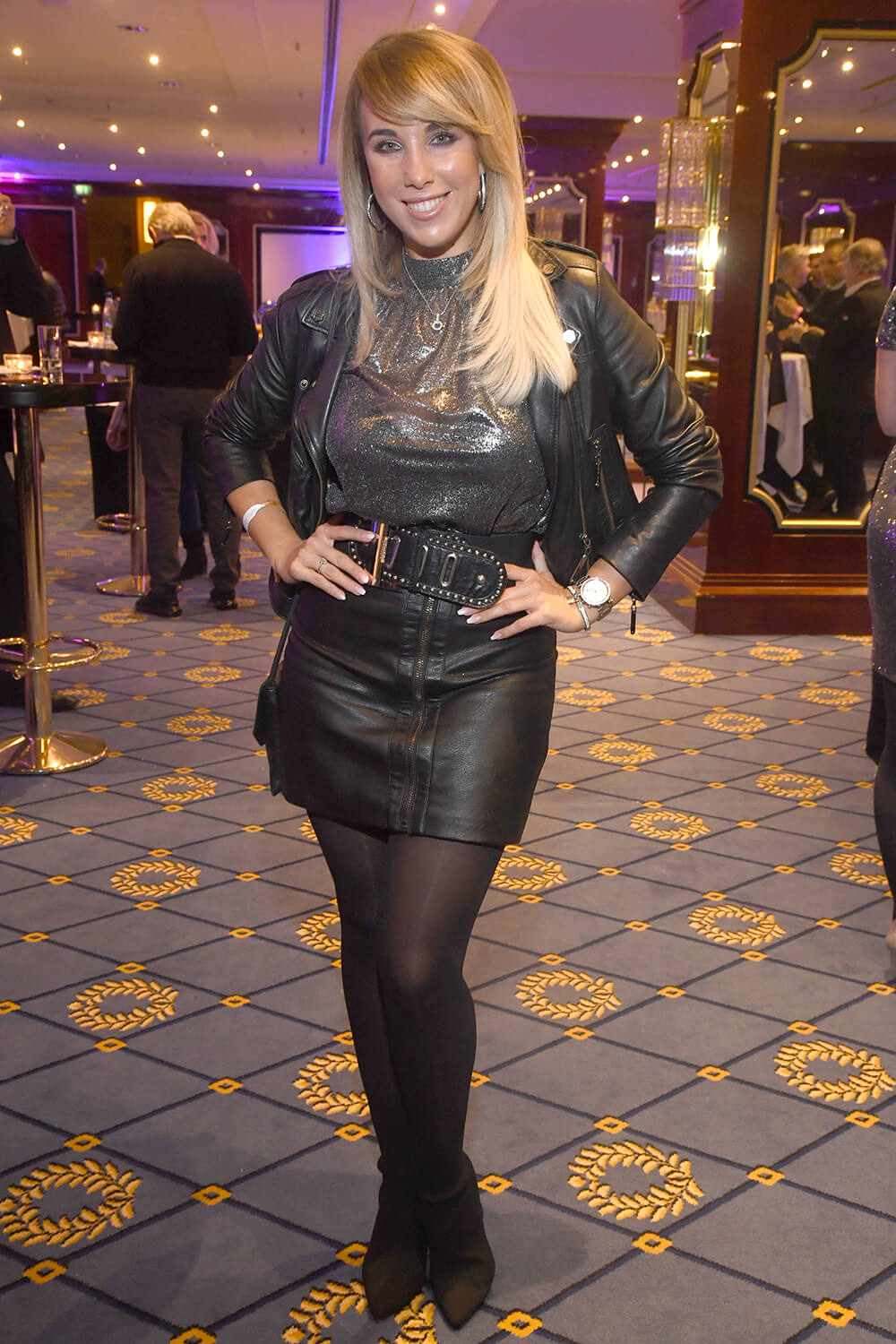 Annemarie Eilfeld Attends Petko S Fight Night Maritim