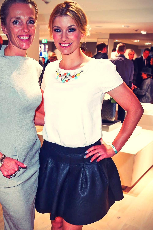 Annica Hansen attends BRAX Store Opening