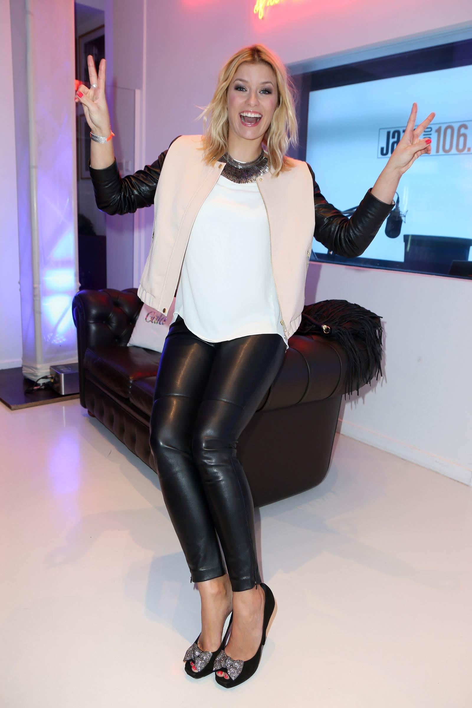 Annica Hansen attends Glaw Fashion Show