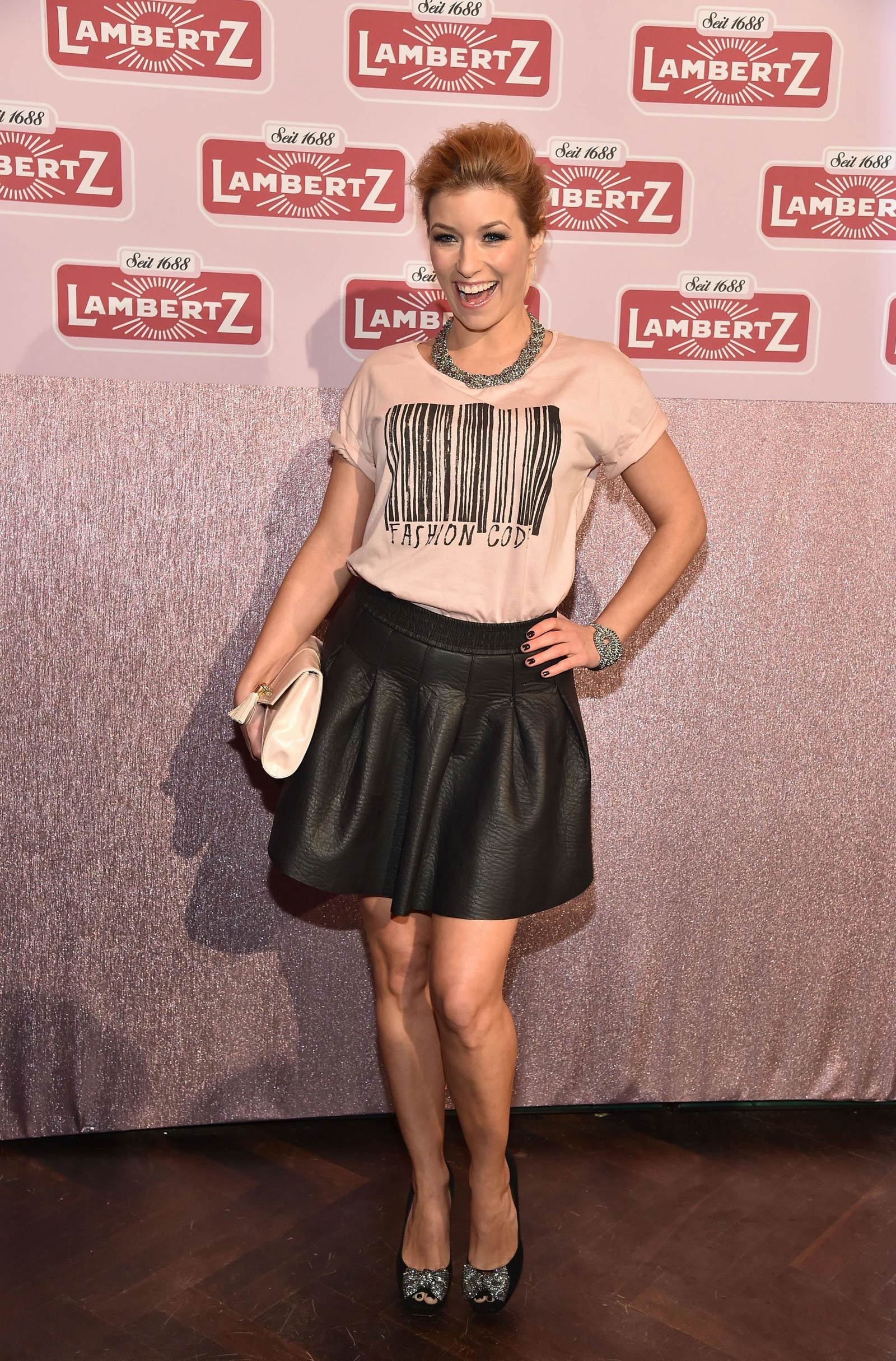 Annica Hansen attends Lambertz Monday Chocolate Fashion Night