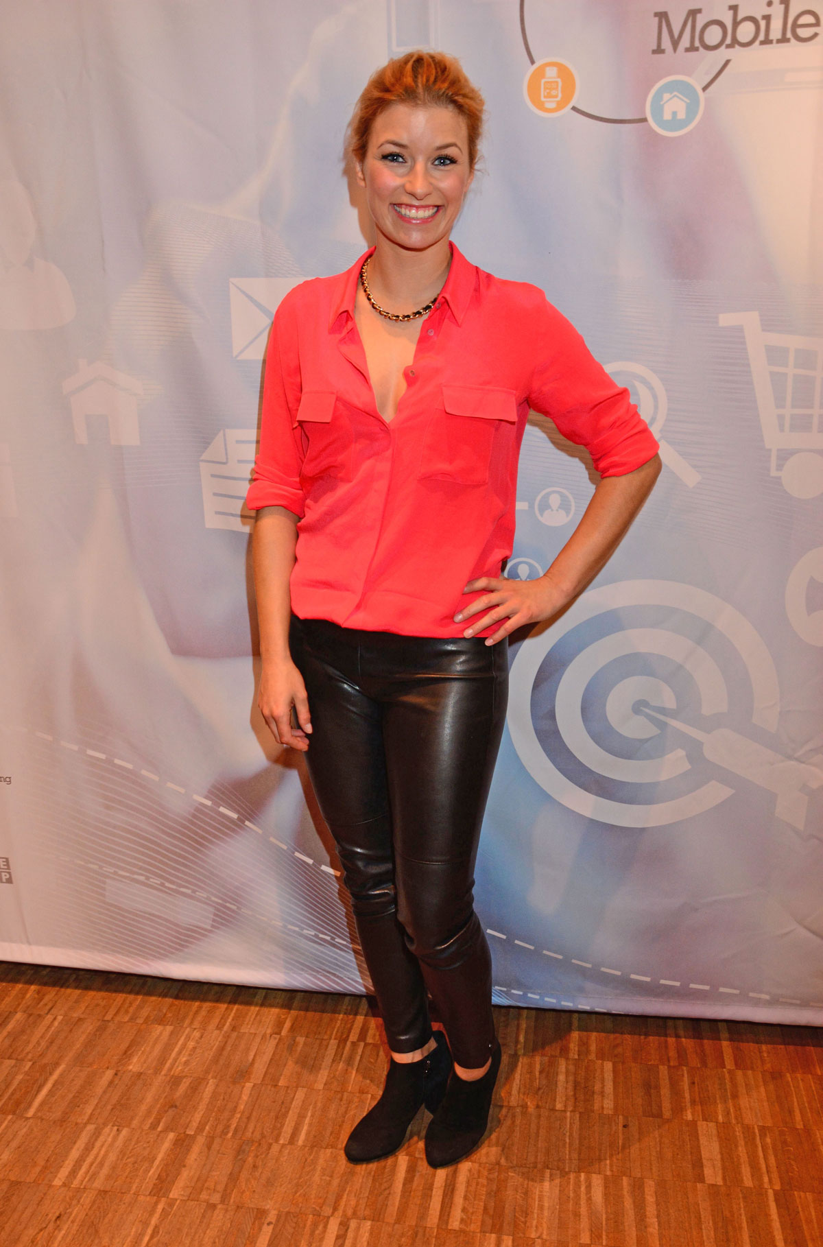 Annica Hansen attends Mobile Living Event Gaming