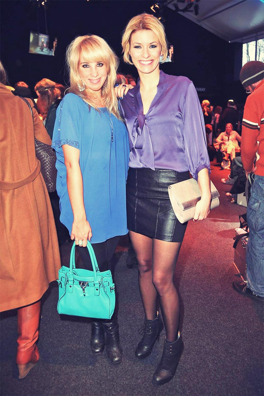 Annica Hansen attends Mercedes-Benz Fashion Week Berlin 2013