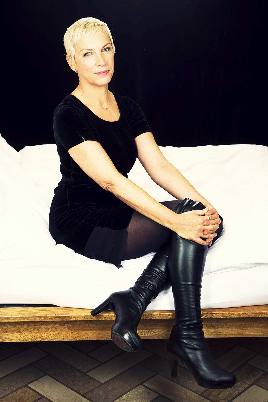 Annie Lennox photoshoot for Murdo Macleod
