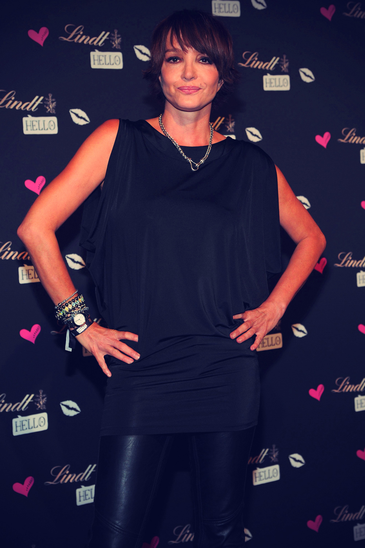 ... Anouschka Renzi at Lindt HELLO VIP NITE