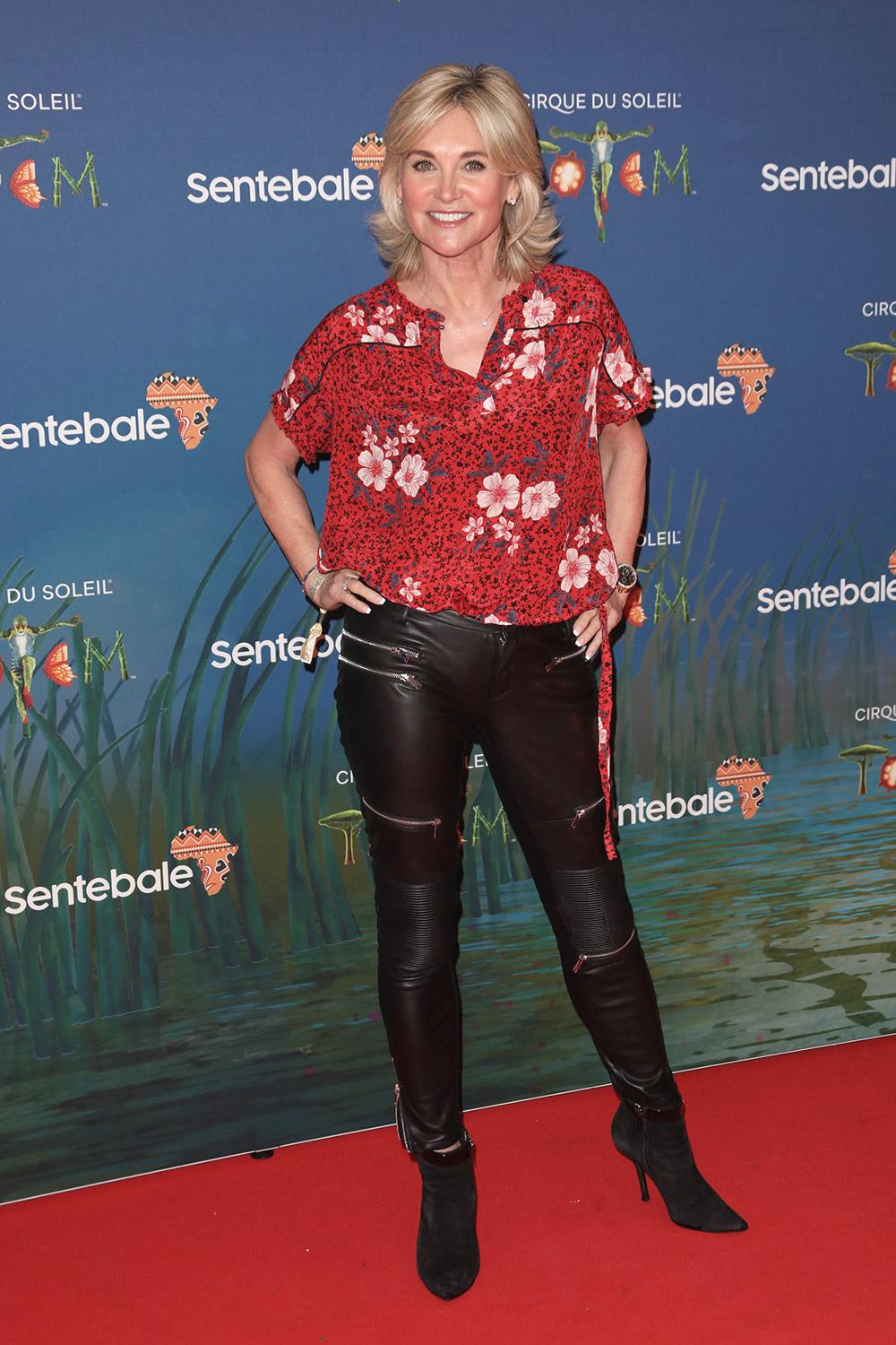 Anthea Turner attends Cirque du Soleil's Totem 10th Anniversary Premiere