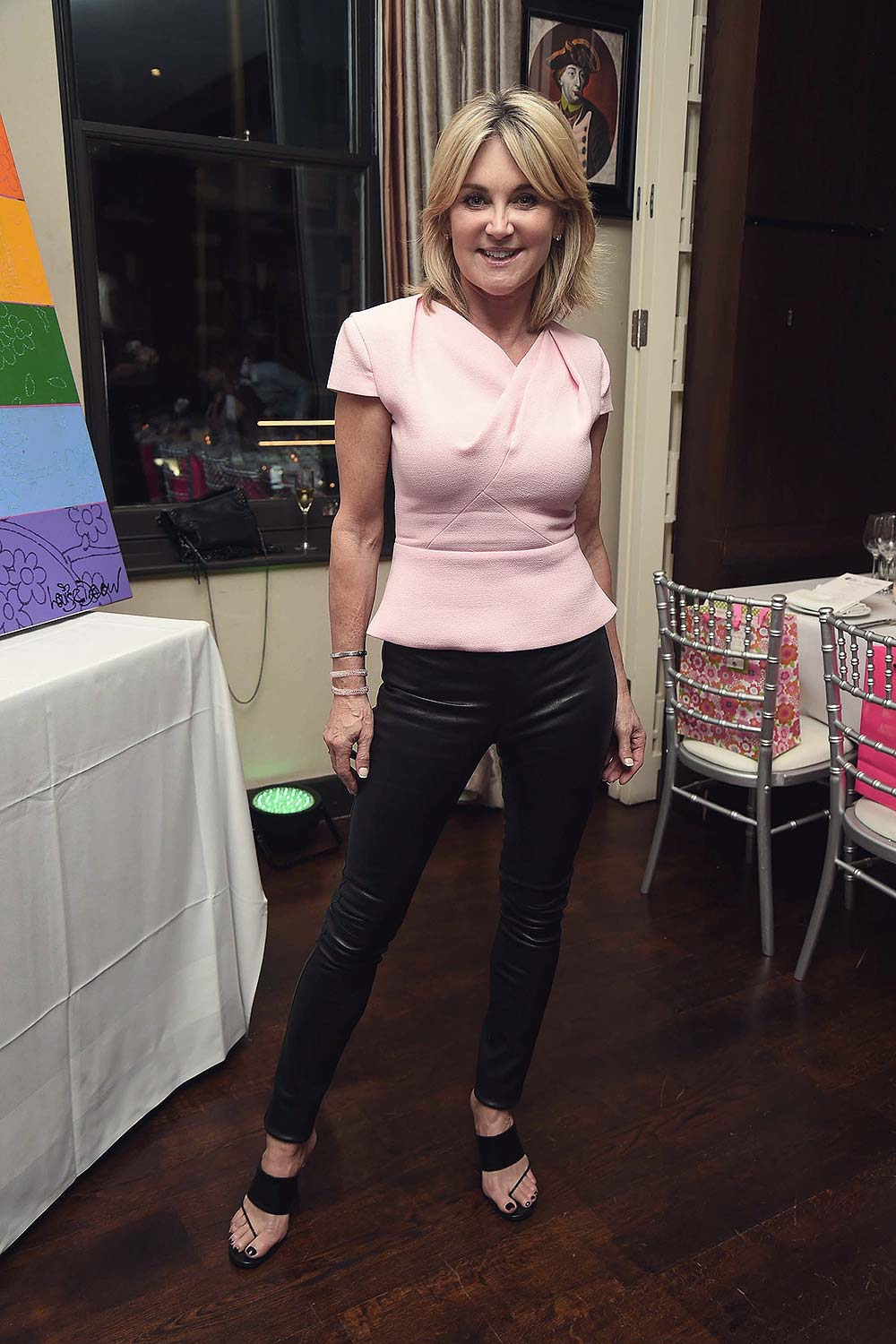 Anthea Turner attends HIV Awareness Dinner