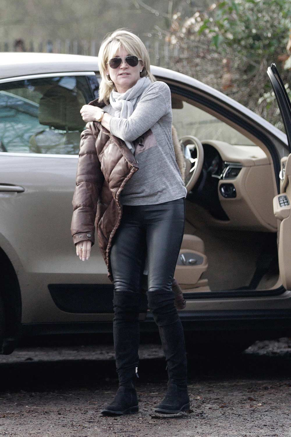 Anthea Turner out Shopping