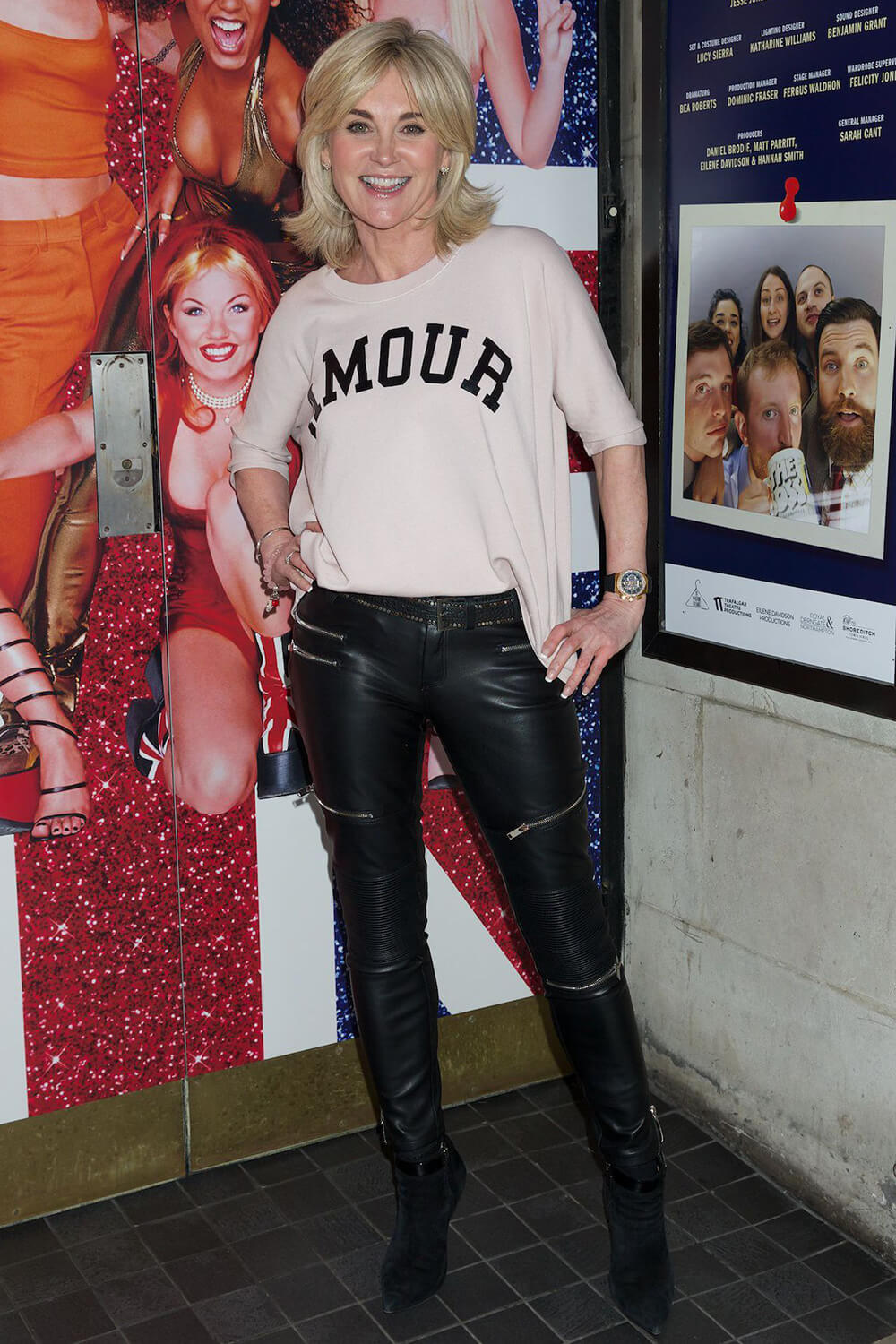 Anthea Turner attends Education, Education, Education Press Night