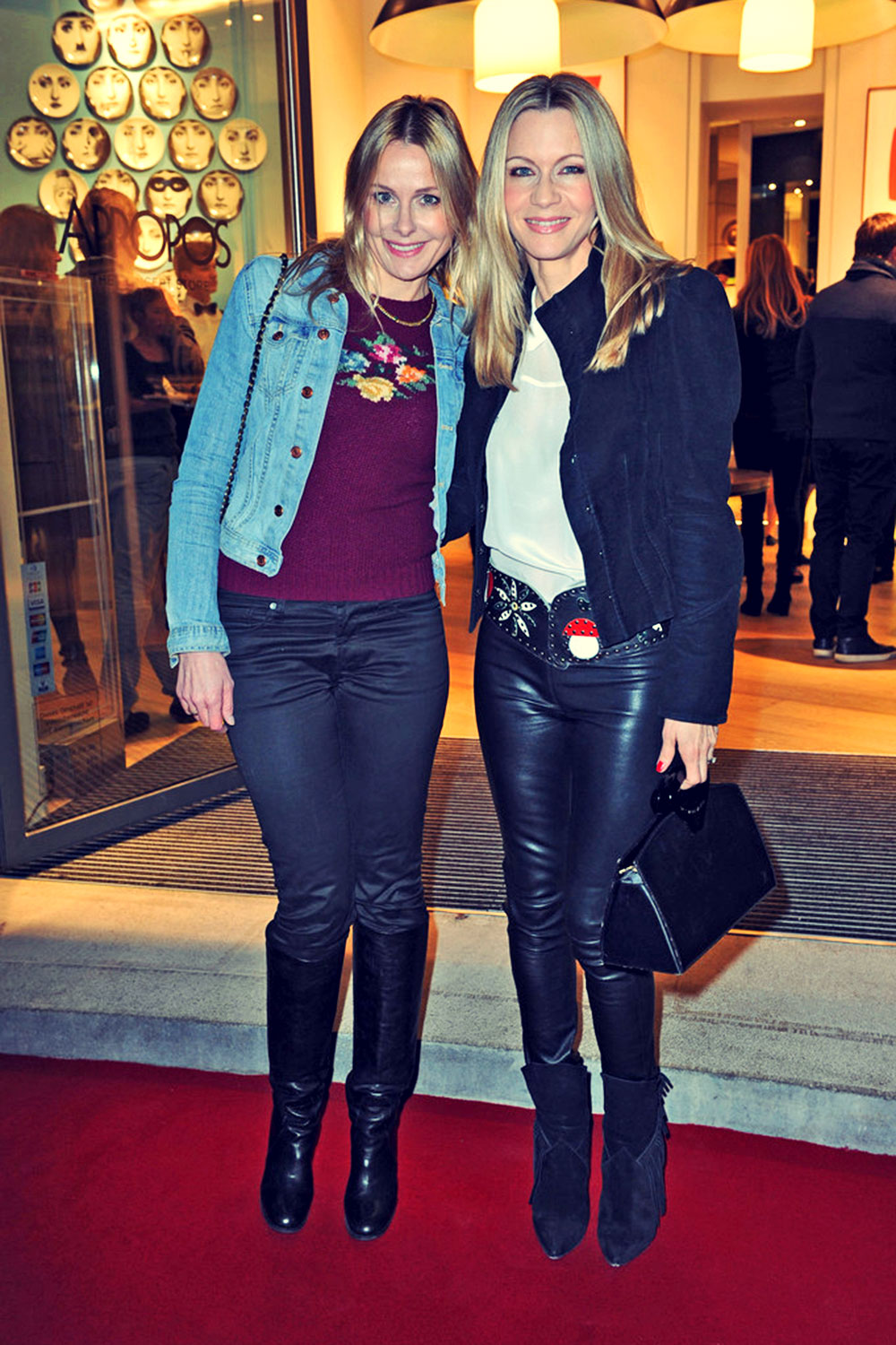 Verena Klein and Petra Winter attend Apropos Concept Store Opening