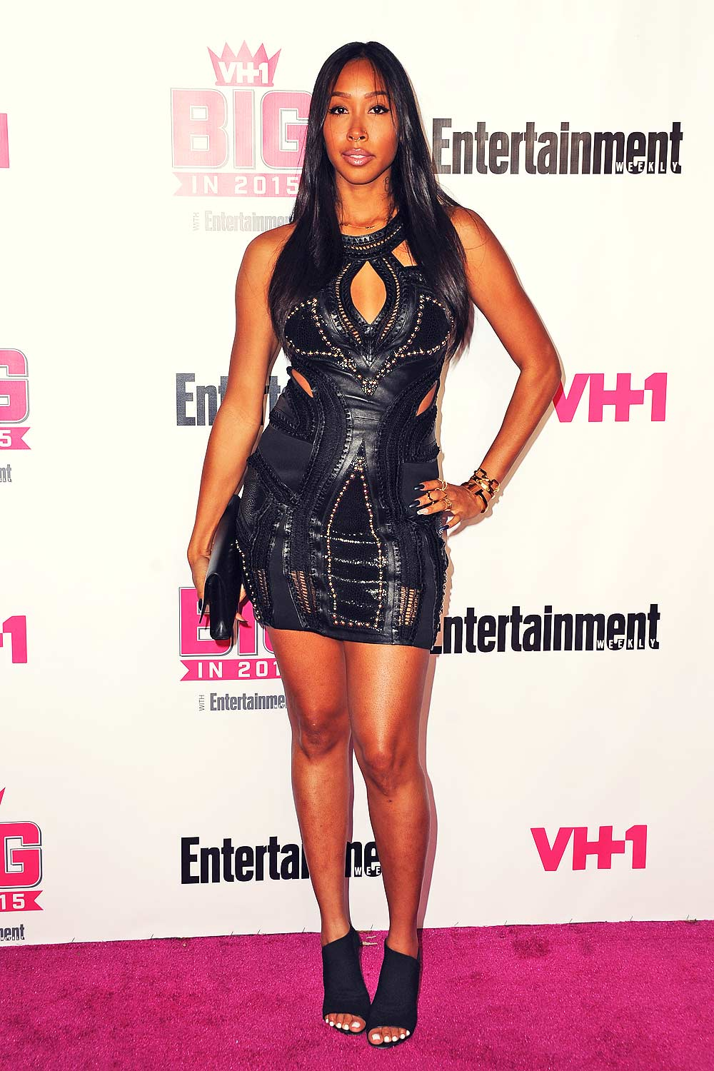 Apryl Jones attends VH1 Big In 2015 With Entertainment Weekly Awards