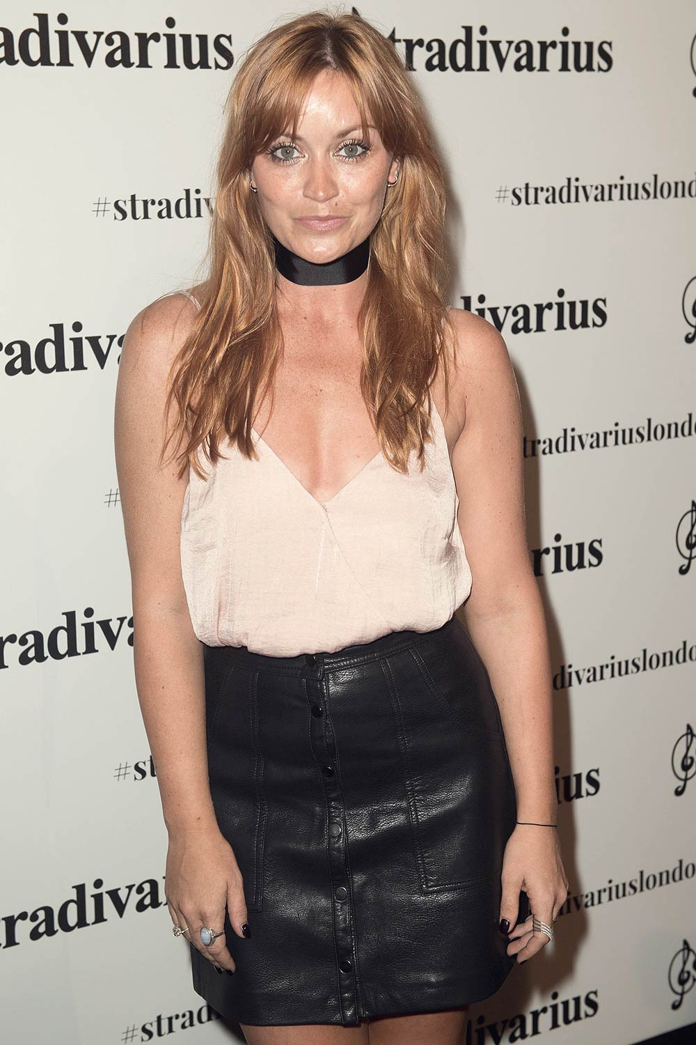 ... Arielle Free attends the Stradivarius Oxford Street store launch party