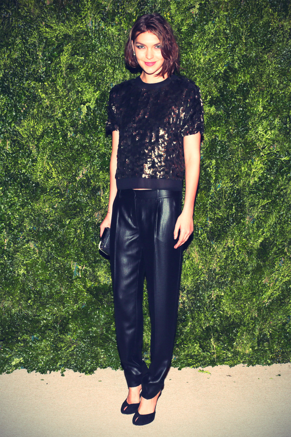 Arizona Muse at The Ninth Annual CFDA/Vogue Fashion Fund Awards