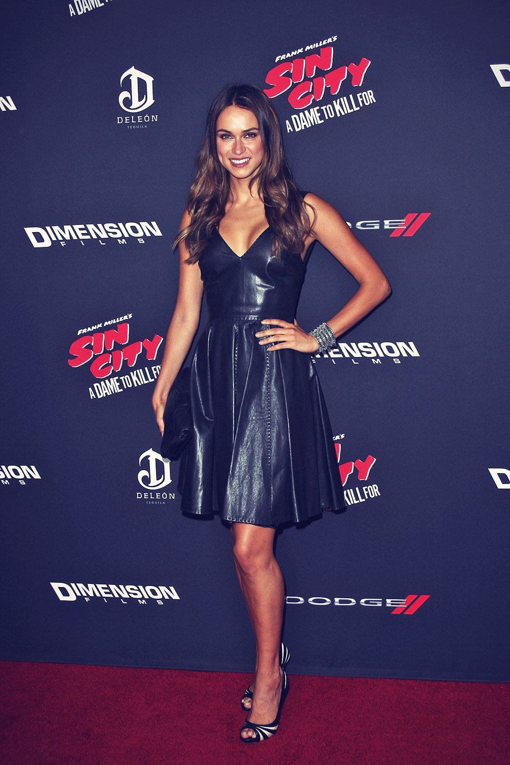 Asha Leo attends Sin City A Dame To Kill For Premiere