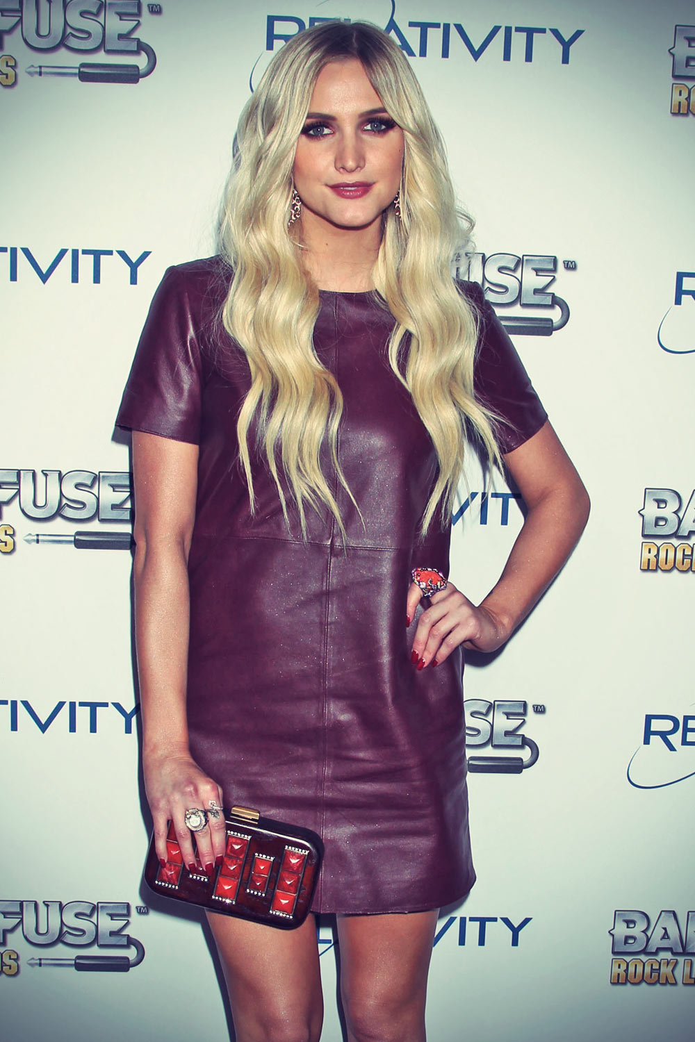 Ashlee Simpson attends BandFuse Rock Legends Event