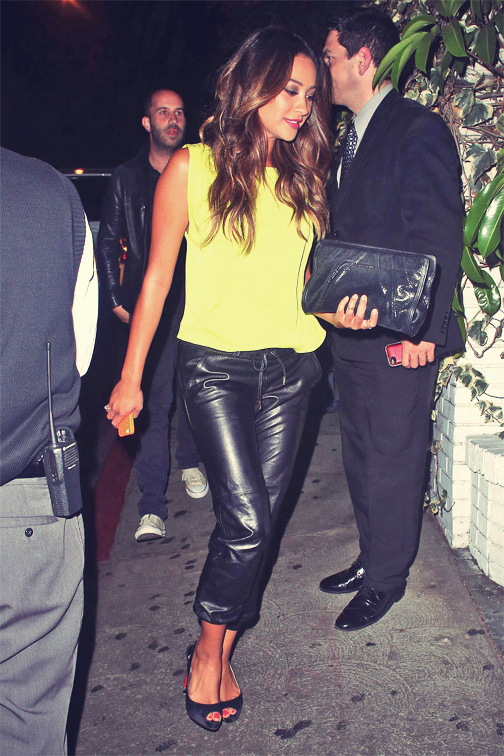 Ashley Benson & Shay Mitchell at the Chateau Marmont