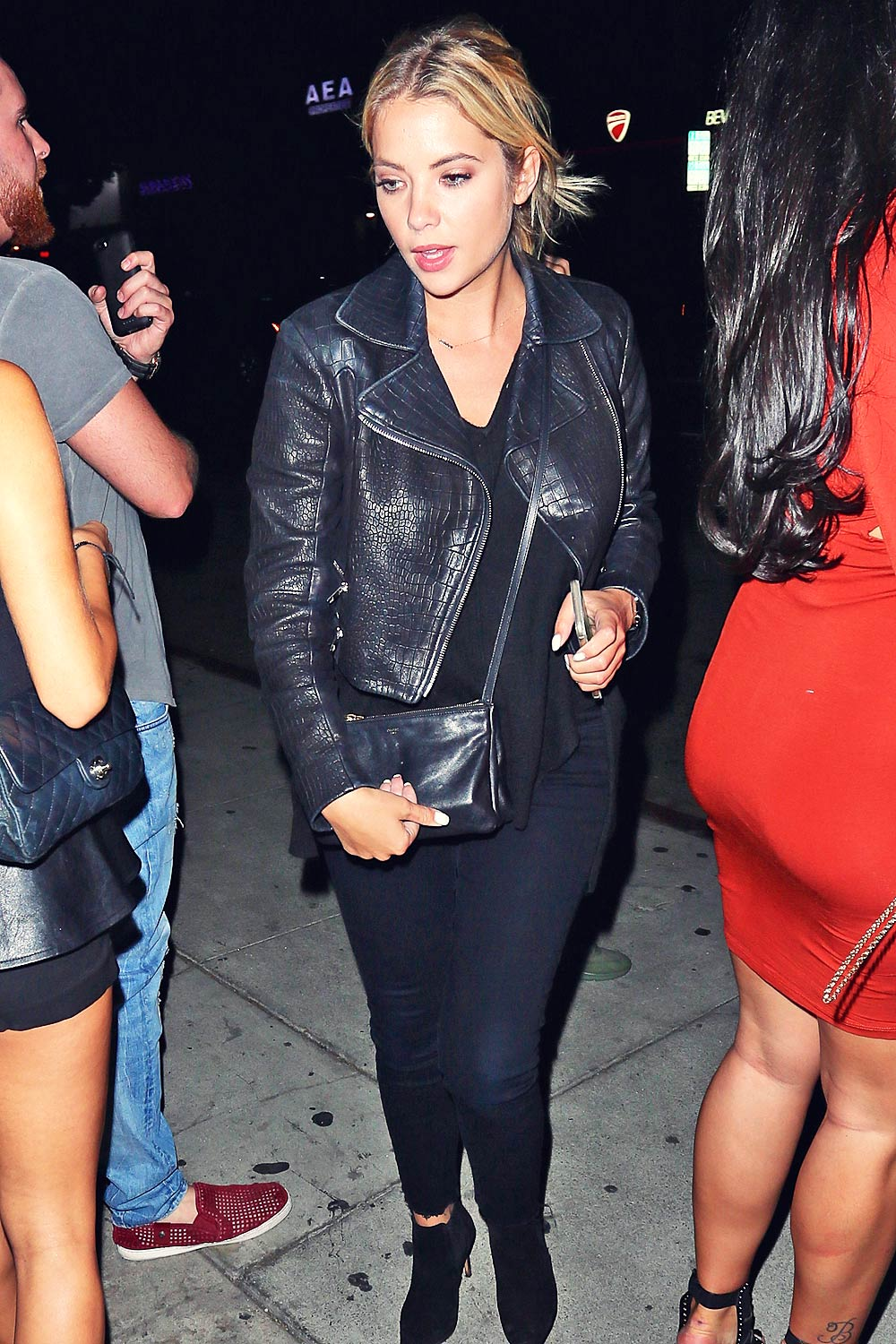 Ashley Benson at the Nice Guy Club