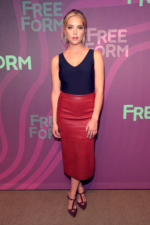 Ashley Benson attends 2016 ABC Freeform Upfront