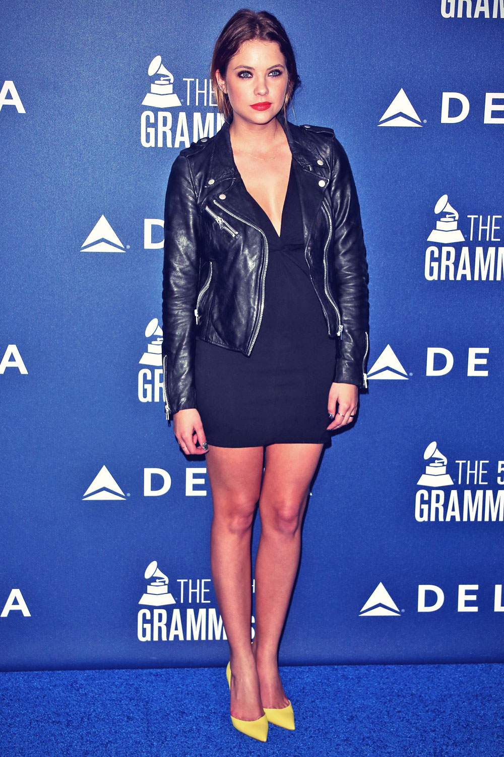 Ashley Benson attends Delta Air Lines 2014 Grammy Weekend