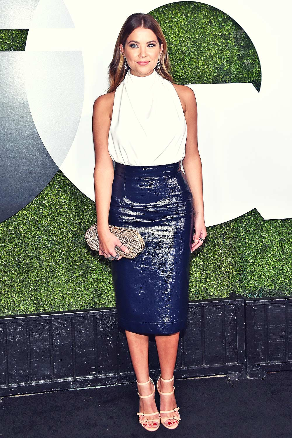 Ashley Benson Attends Gq Men Of The Year Party