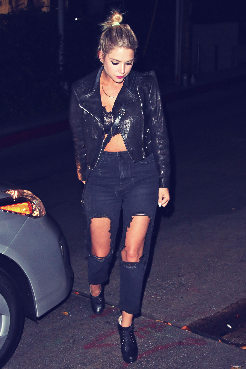 Ashley Benson out and about candids in LA