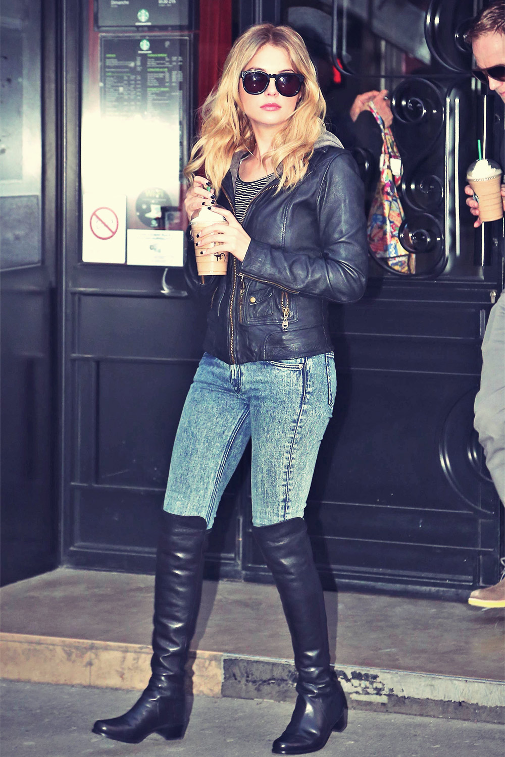Ashley Benson out and about in Paris