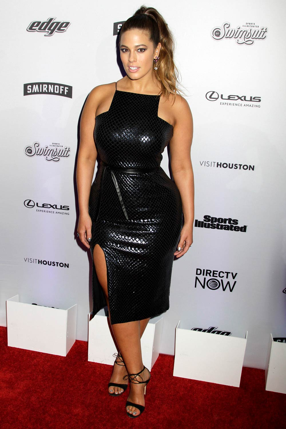 Ashley Graham At Sports Illustrated Swimsuit 2017 Launch