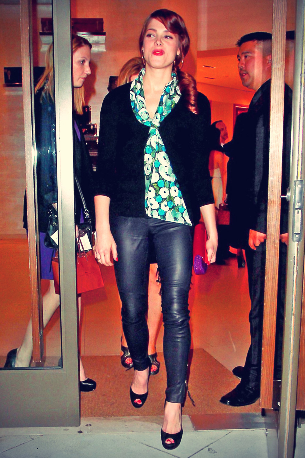 Ashley Greene Louis Vuitton & Glamour event