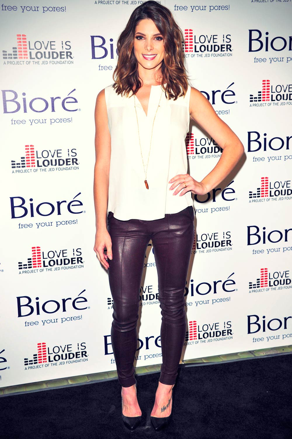 Ashley Greene attends Love Is Louder Project Event