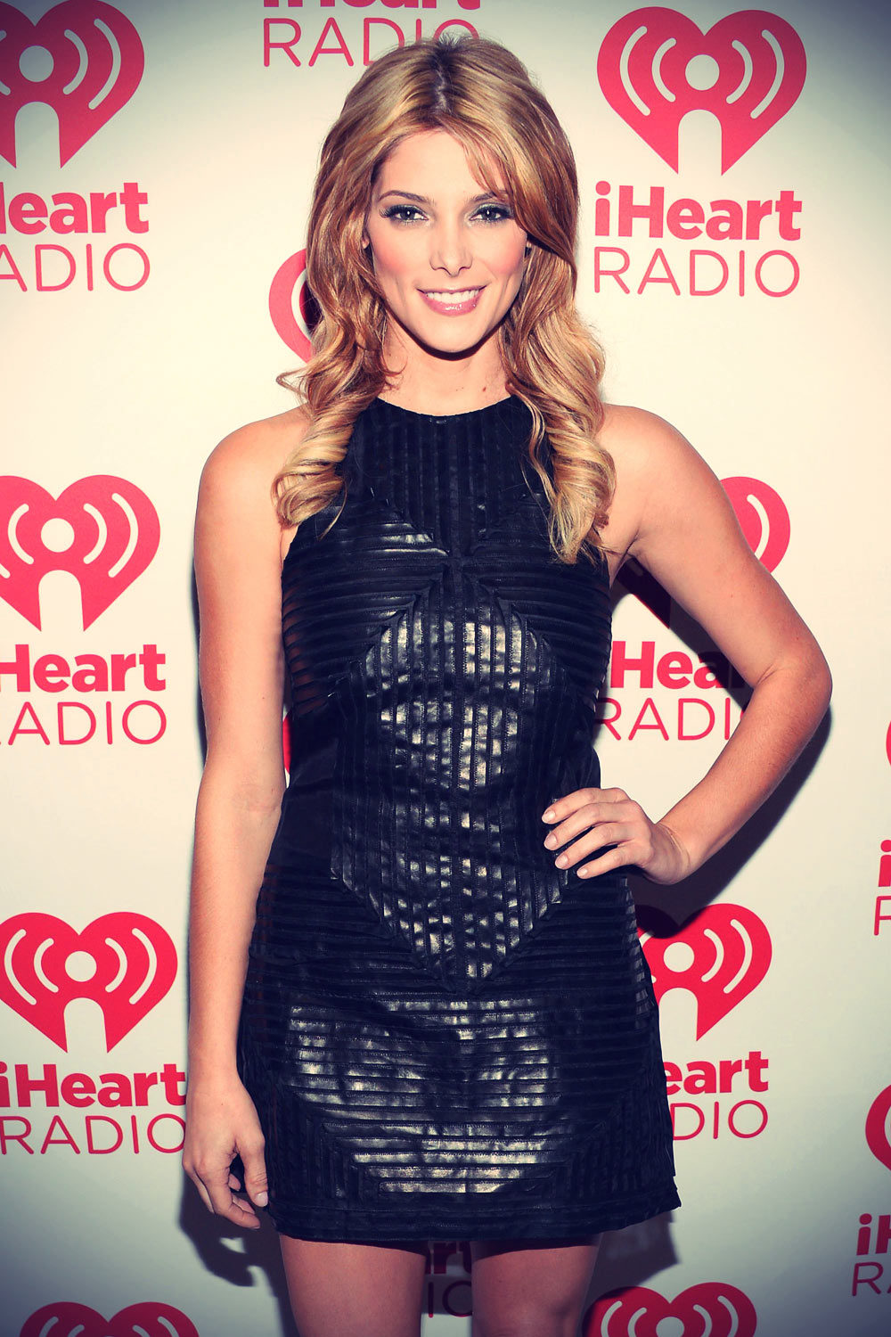 Ashley Greene attends iHeartRadio Music Festival