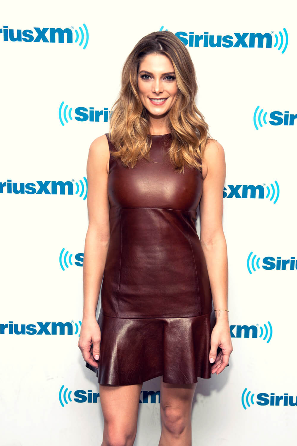 Ashley Greene stops by the AOL Studios building