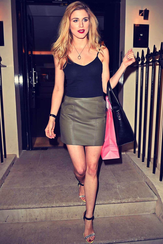 Ashley James attends Boux Avenue Summer Launch Party