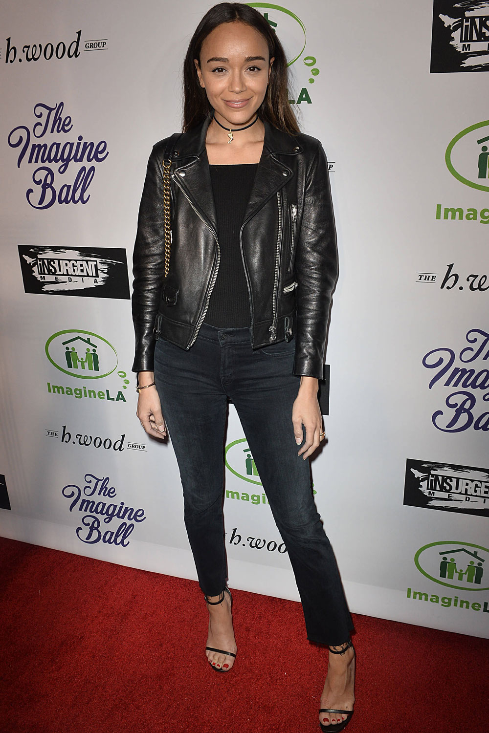 Ashley Madekwe attends Imagine Ball Benefiting Imagine LA