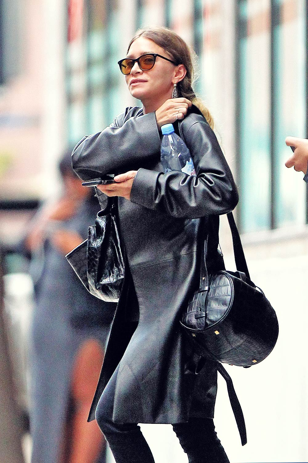 Ashley Olsen out in NYC