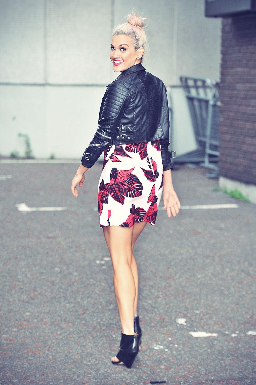 Ashley Roberts at ITV Studios in London