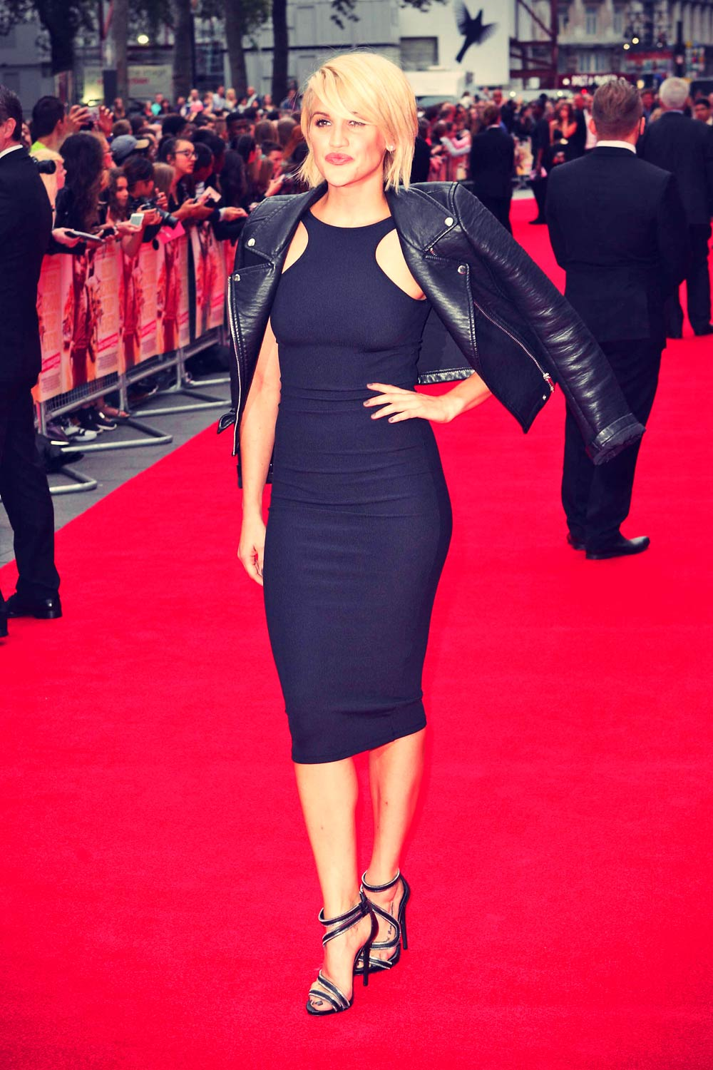 Ashley Roberts attends The Bad Education Movie London premiere
