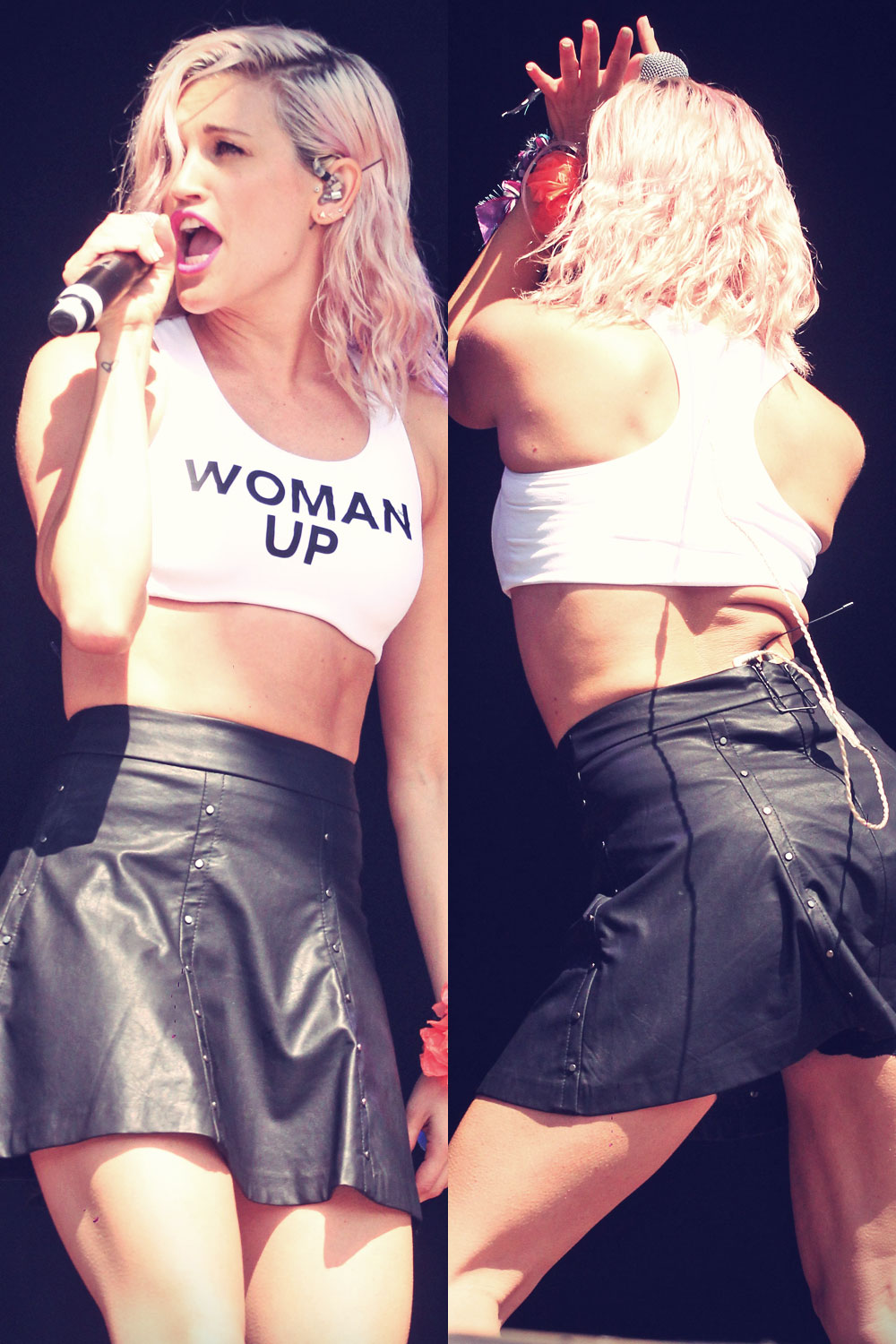 Ashley Roberts performs at the Guilfest festival