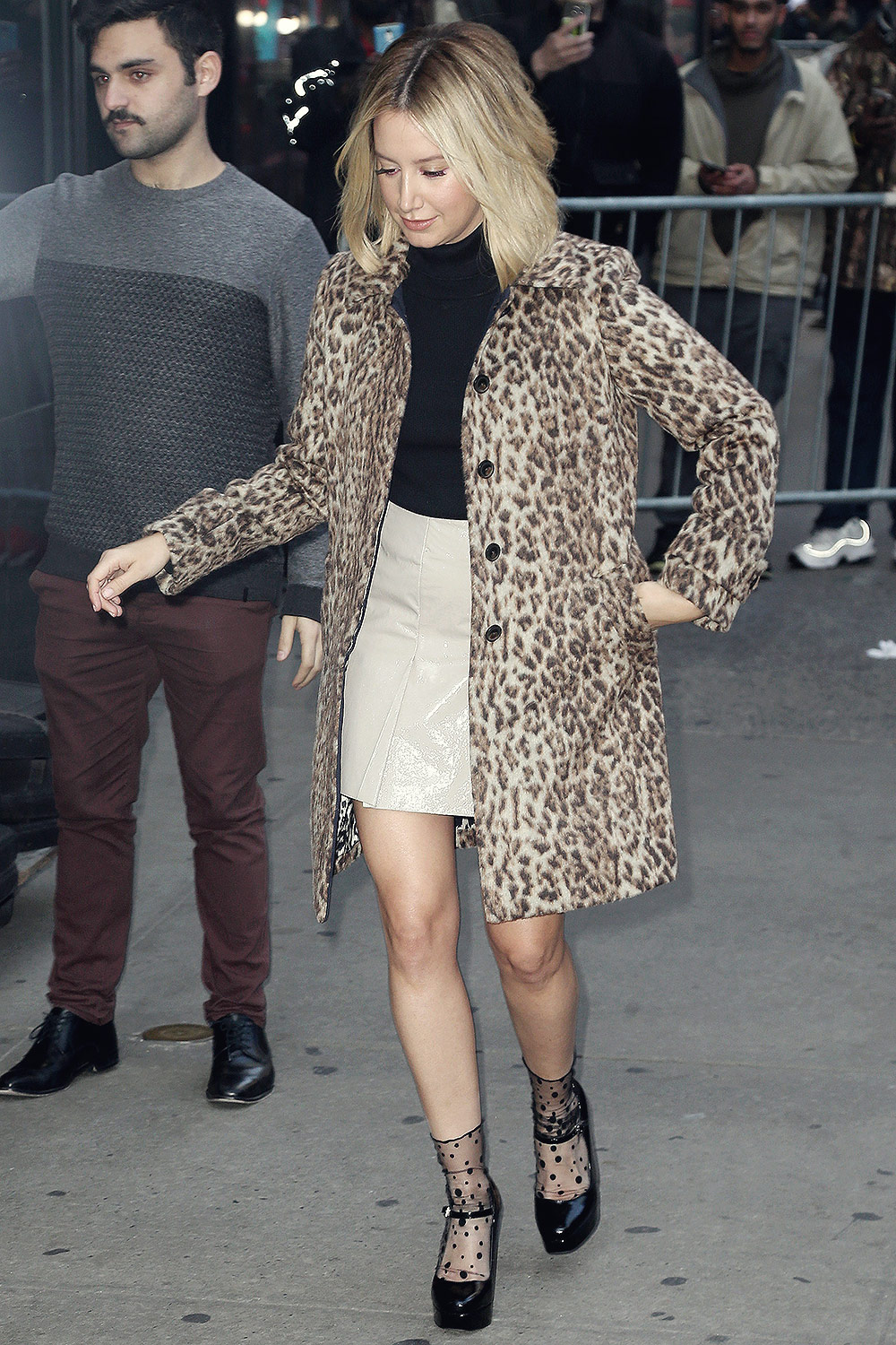 Ashley Tisdale at Good Morning America