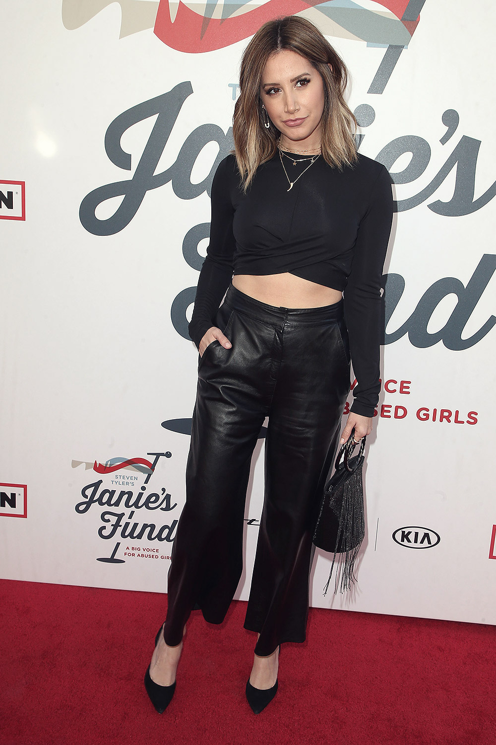 e121e704a009 ... Ashley Tisdale attends Inaugural Janie s Fund Gala   Grammy Viewing  Party